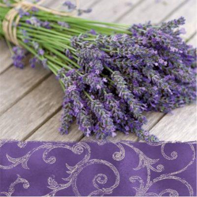 Bouquet of Lavender Luncheon Napkins