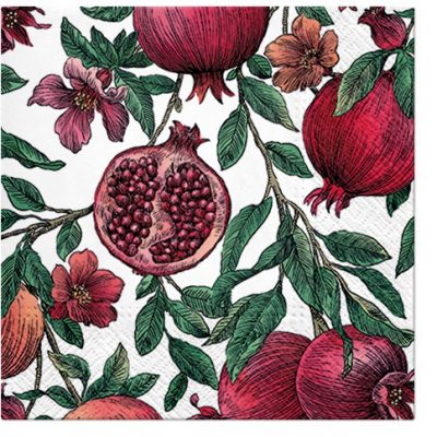 Pomegranate Cocktail Napkins
