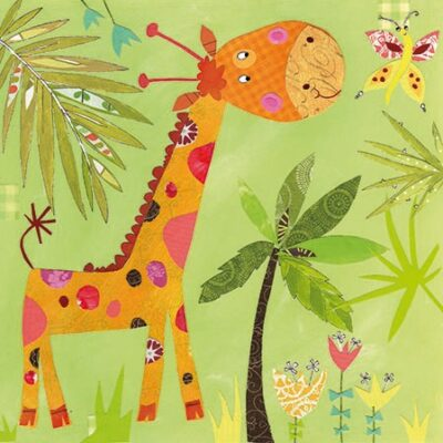 Happy Giraffe Luncheon Napkins