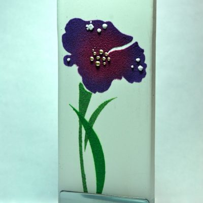 Avatar Flower Flat Candle