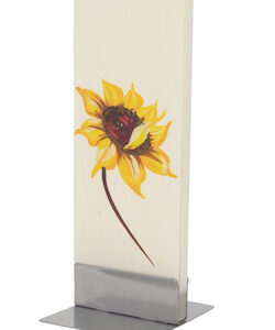 Sunflower Flat Candle