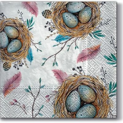 Easter Nest Luncheon Napkins