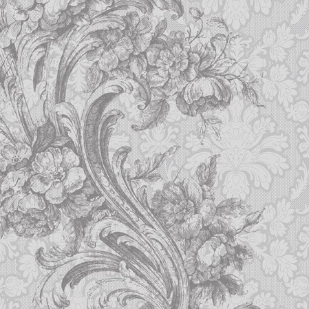 baroque style silver luncheon napkins