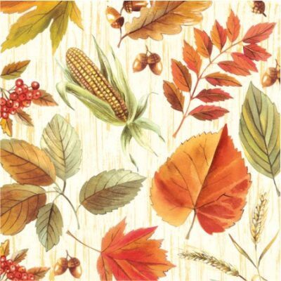 Harvest Time Luncheon Napkins