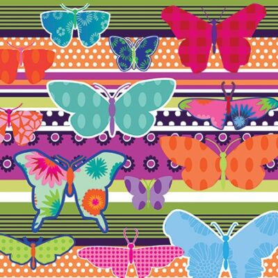 Butterflies Luncheon Napkins