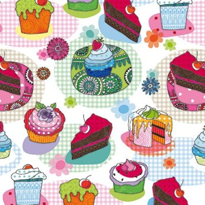 Cakes & Muffins Cocktail Napkins