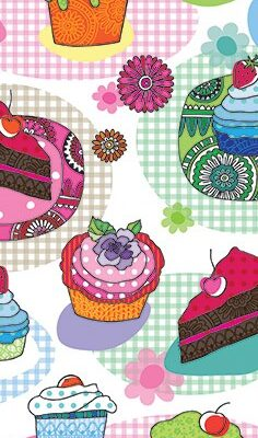 Cakes & Muffins Snack Napkins