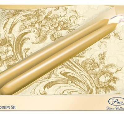 Gift Set Baroque Style Gold