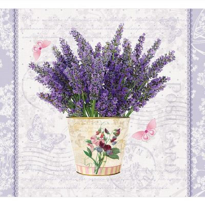 Flowering Lavender Cork Placemats