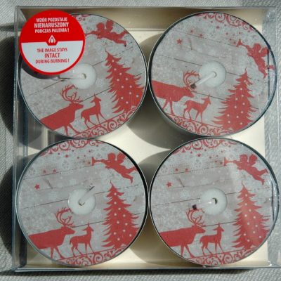 Forest Animals Jumbo Tealights