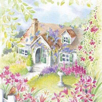 House in the Country Luncheon Napkins