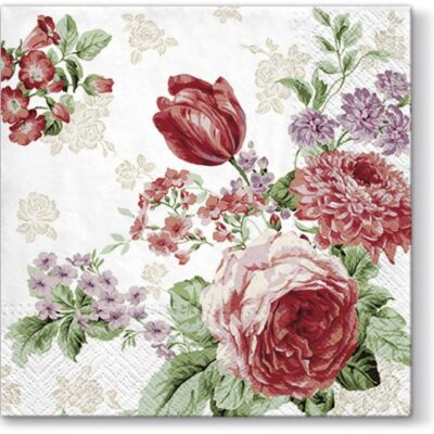 Mysterious Roses Luncheon Napkins | European Excellency