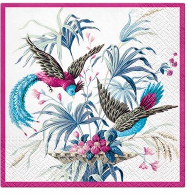 Birds of Eden Luncheon Napkins