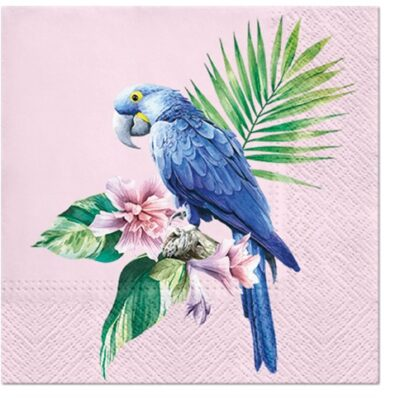Exotic Parrot Luncheon Napkins